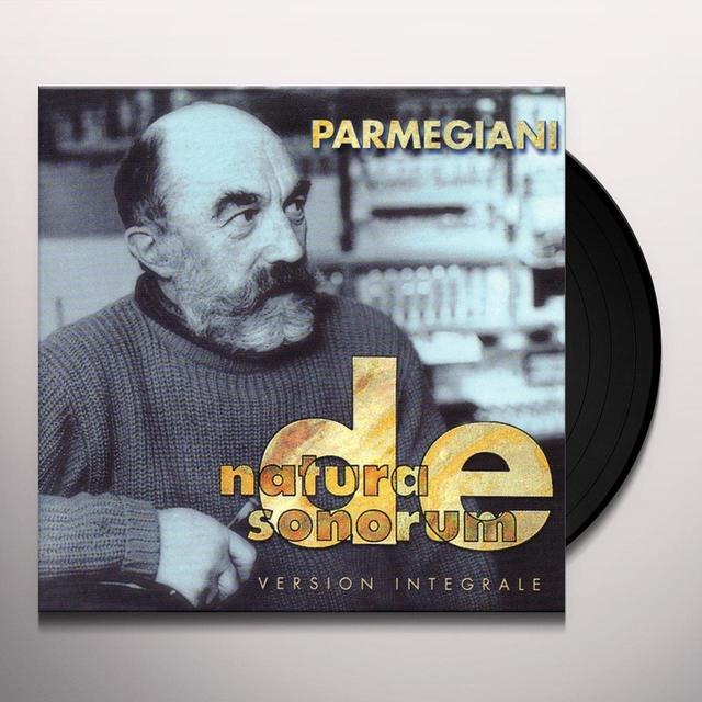 Bernard Parmegiani DE NATURA SONORUM Vinyl Record