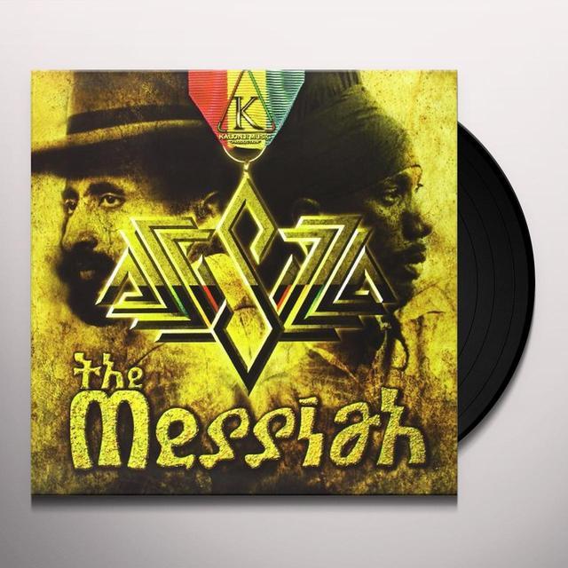 Sizzla MESSIAH Vinyl Record