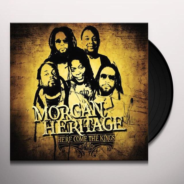 Morgan Heritage HERE COME THE KINGS Vinyl Record