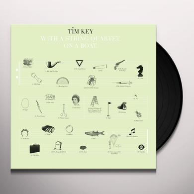 TIM KEY WITH A STRING QUARTET ON A BOAT Vinyl Record