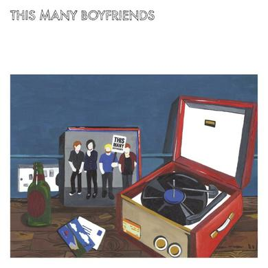 THIS MANY BOYFRIENDS Vinyl Record
