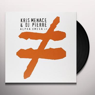 Kris Menace & Dj Pierre ALPHA OMEGA Vinyl Record