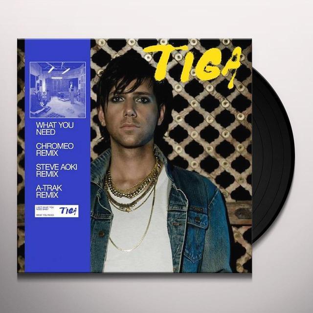 Tiga WHAT YOU NEED Vinyl Record