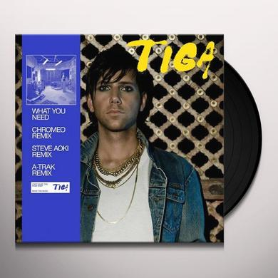 Tiga WHAT YOU NEED Vinyl Record