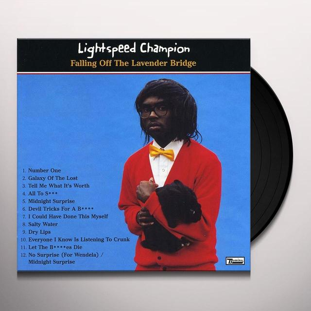 Lightspeed Champion FALLING OFF THE LAVENDER BRIDGE (Vinyl)
