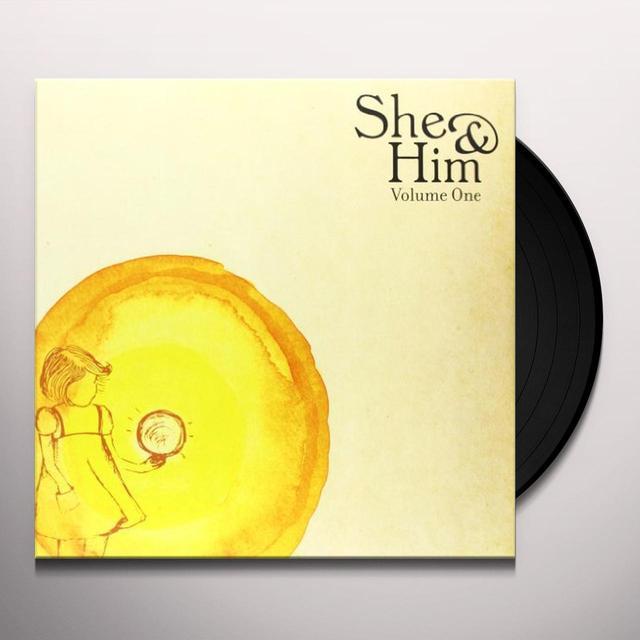 She & Him VOLUME 1 Vinyl Record