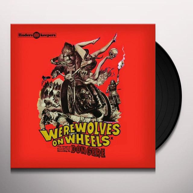 Don Gere WEREWOLVES ON WHEELS Vinyl Record