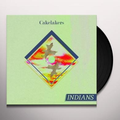 Indians CARELAKERS Vinyl Record - UK Import