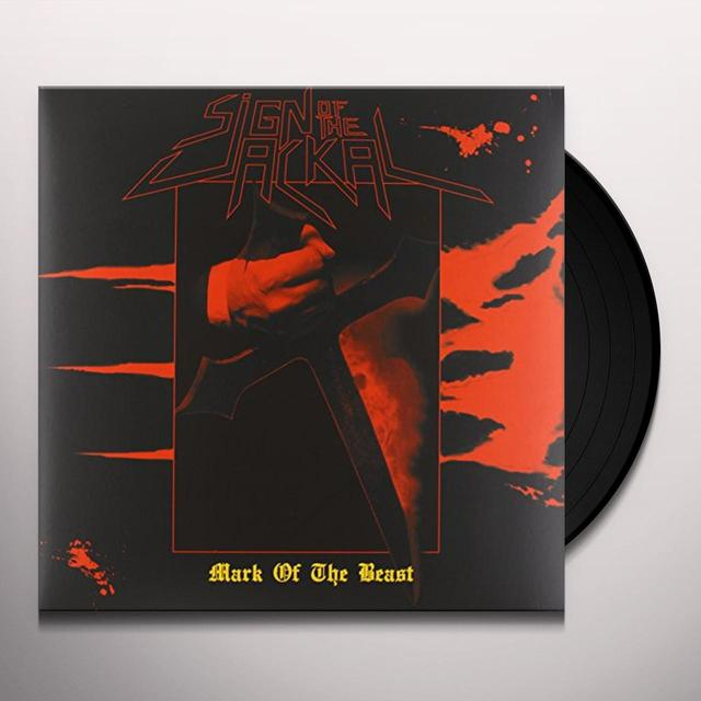 Sign Of The Jackal MARK OF THE BEAST Vinyl Record