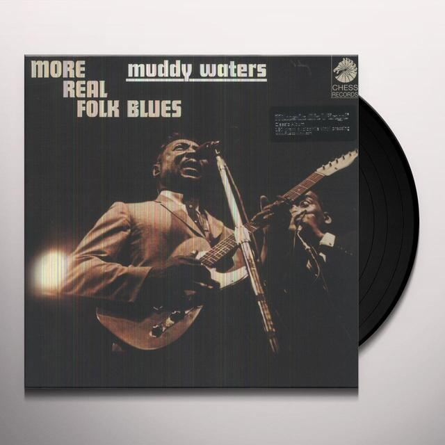 Muddy Waters MORE REAL FOLK BLUES Vinyl Record - Holland Import