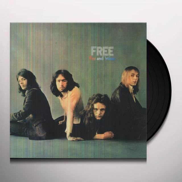 Free FIRE & WATER Vinyl Record