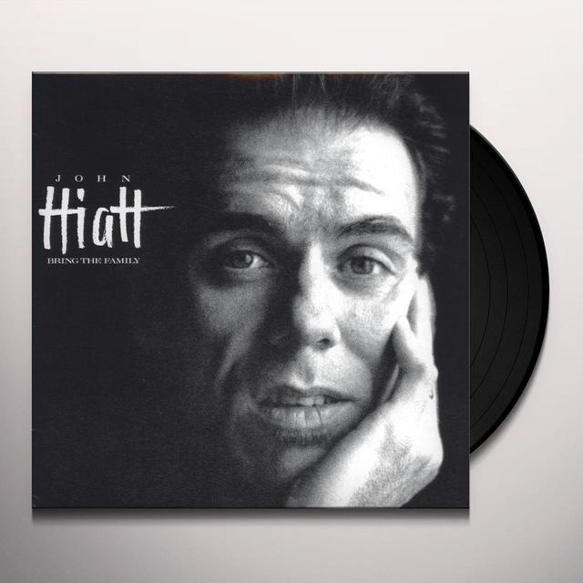 John Hiatt BRING THE FAMILY Vinyl Record - 180 Gram Pressing