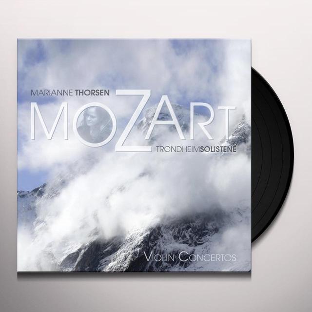 Mozart / Trondheimsolistene / Thorsen VIOLIN CONCERTOS Vinyl Record
