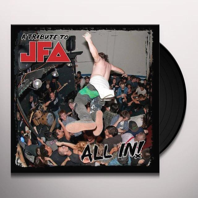 ALL IN: A TRIBUTE TO JFA / VARIOUS Vinyl Record