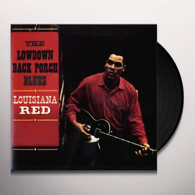 Louisiana Red LOWDOWN BACK PORCH BLUES Vinyl Record