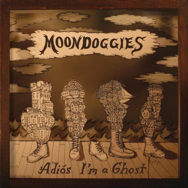 Moondoggies ADIOS I'M A GHOST Vinyl Record