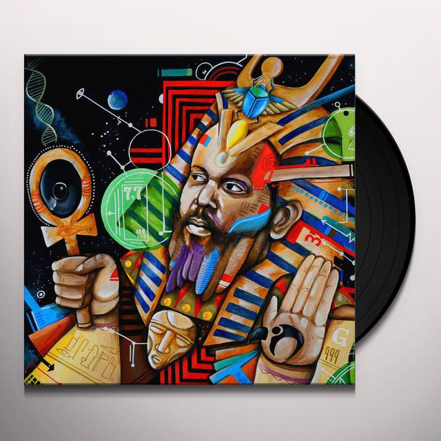 Ras G BACK ON THE PLANET Vinyl Record