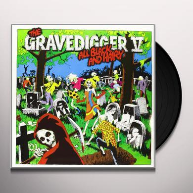 Gravedigger V ALL BLACK & HAIRY Vinyl Record