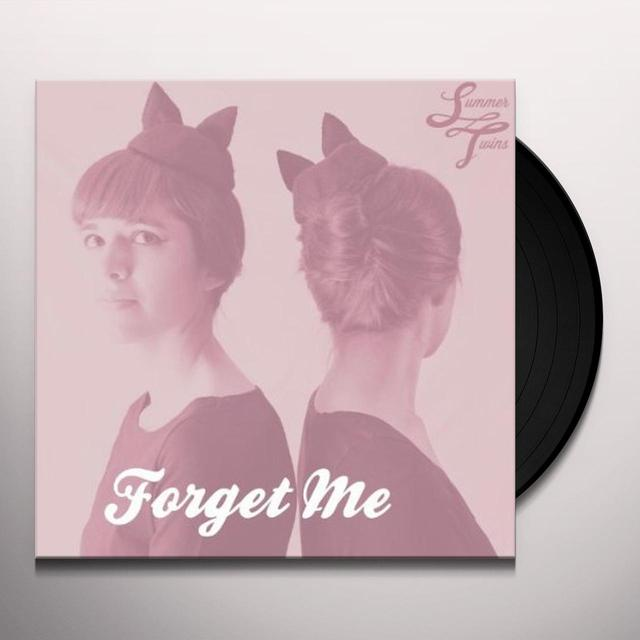Summer Twins FORGET ME Vinyl Record