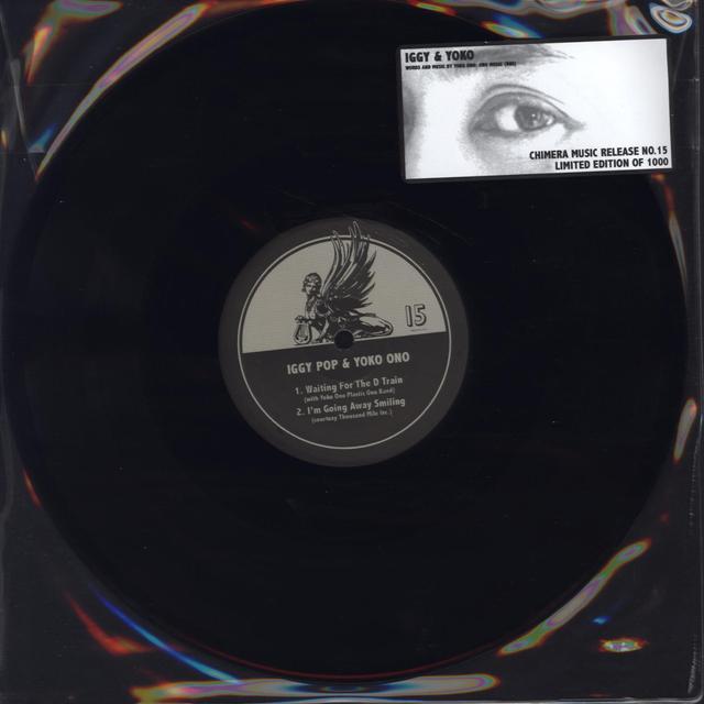 Iggy Pop & Yoko Ono CHIMERA MUSIC RELEASE 15 Vinyl Record