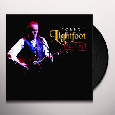 Gordon Lightfoot ALL LIVE Vinyl Record - Limited Edition, 180 Gram Pressing