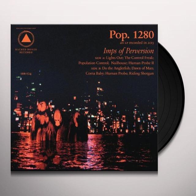 Pop. 1280 IMPS OF PERVERSION Vinyl Record