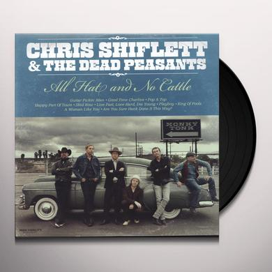 Chris Shiflett & Dead Peasants ALL HAT & NO CATTLE Vinyl Record - Digital Download Included