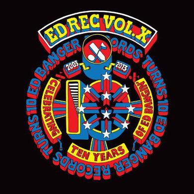 Ed Rec Vol X / Various (Bonus Cd) ED REC VOL X / VARIOUS Vinyl Record