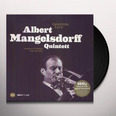 LEGENDS LIVE: ALBERT MANGELSDORFF QUINTETT Vinyl Record