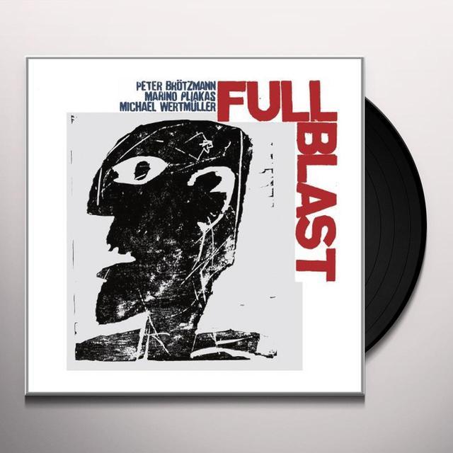 Peter Broetzmann / Marino Pliakas FULL BLAST Vinyl Record