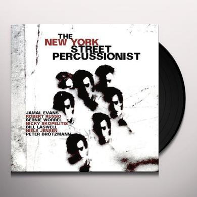 Jamal Evans / Robert Russo / Bernie Worrel NEW YORK STREET PERCUSSIONIST Vinyl Record