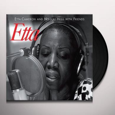 Etta Cameron / Nikolaj Hess ETTA Vinyl Record