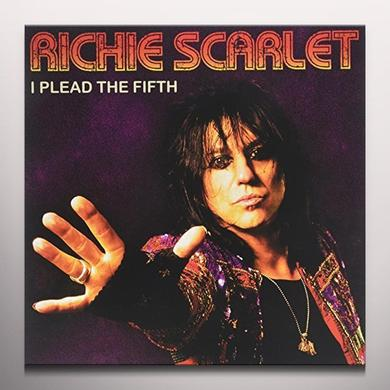 Richie Scarlet PLEAD THE FIFTH Vinyl Record