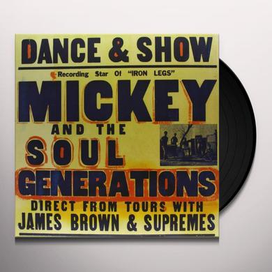 Mickey & The Soul Generation IRON LEG Vinyl Record