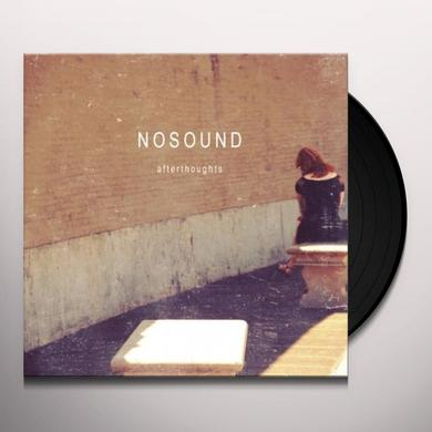 Nosound AFTERTHOUGHTS Vinyl Record
