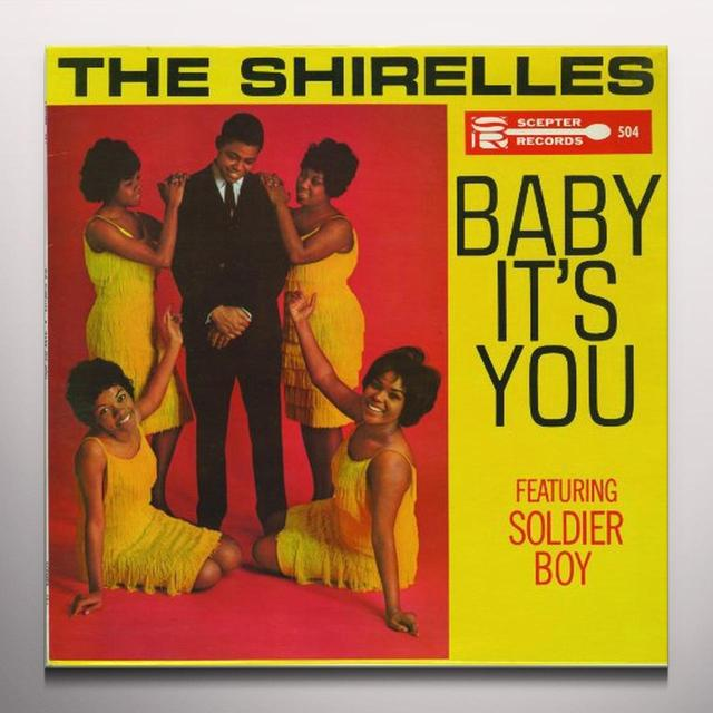 The Shirelles BABY ITS YOU Vinyl Record - Colored Vinyl