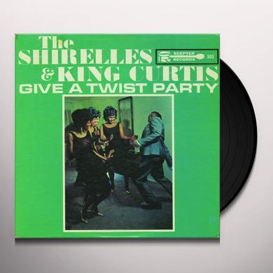 King Shirelles / Curtis GIVE A TWIST PARTY Vinyl Record
