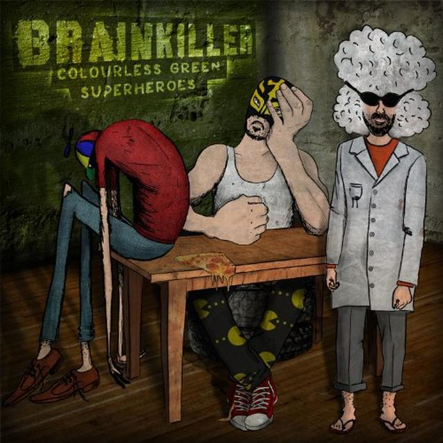 Brainkiller COLOURLESS GREEN SUPERHEROES Vinyl Record
