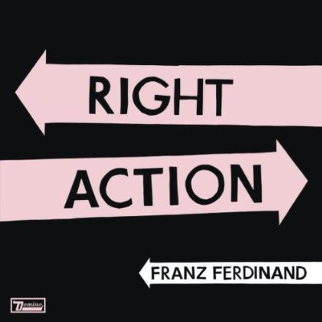 Franz Ferdinand RIGHT ACTION Vinyl Record