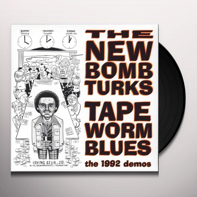 New Bomb Turks TAPEWORM BLUES (1992 DEMOS) Vinyl Record