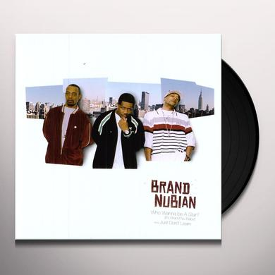 Brand Nubian WHO WANNA BE A STAR / JUST DON'T LEARN Vinyl Record