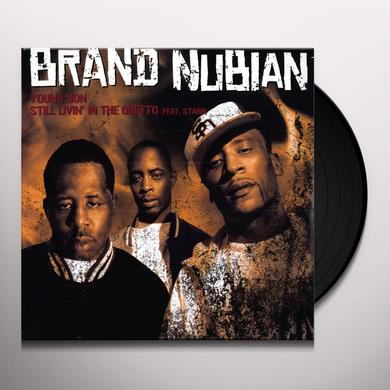 Brand Nubian YOUNG SON / STILL LIVIN' IN THE GHETTO Vinyl Record