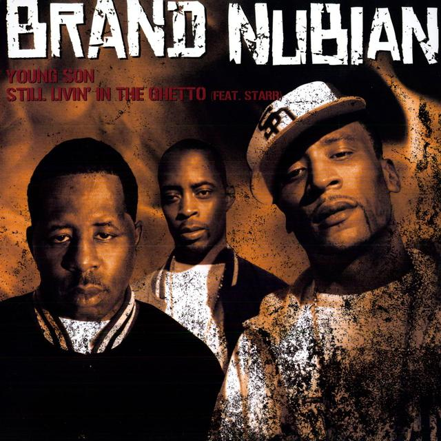 Brand Nubian YOUNG SON / STILL LIVIN' IN THE GHETTO Vinyl Record