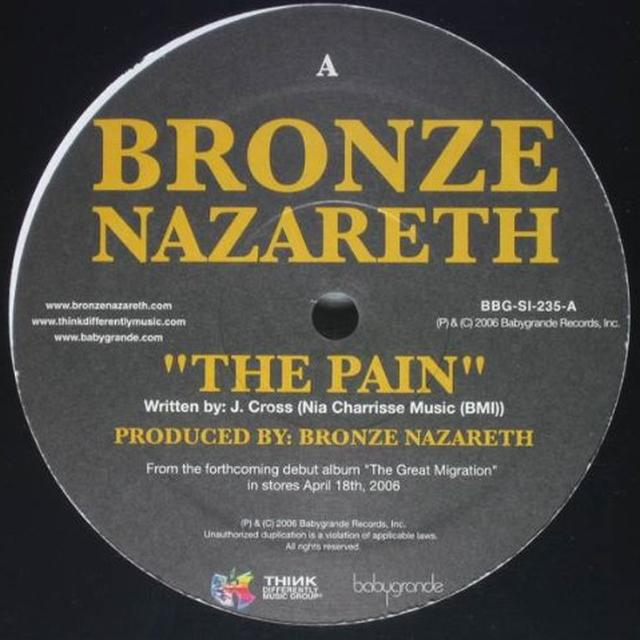 Bronze Nazareth PAIN / MORE THAN GOLD Vinyl Record