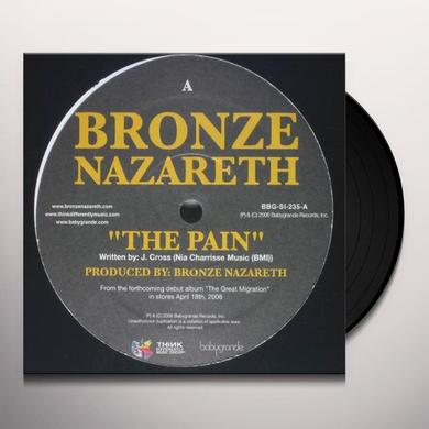 Bronze Nazareth PAIN / MORE THAN GOLD Vinyl Record