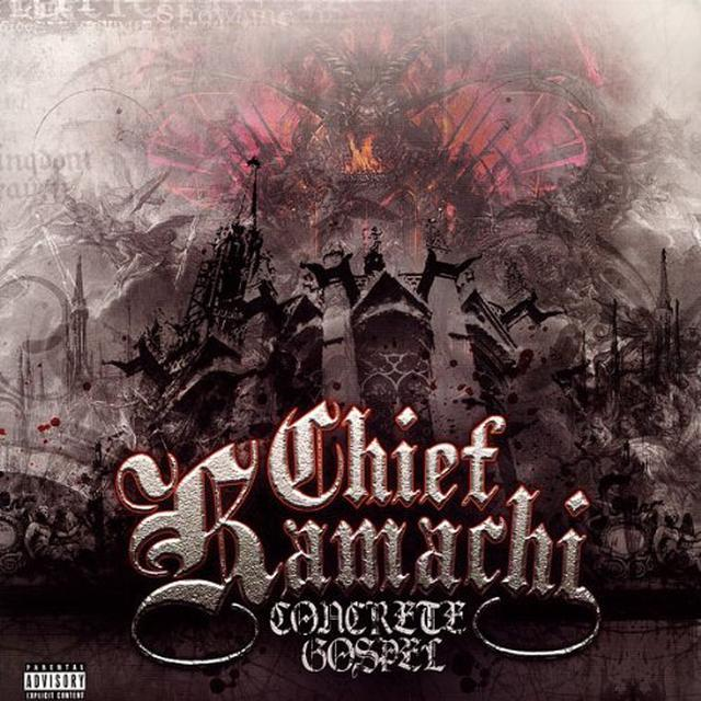Chief Kamachi CONCRETE GOSPEL Vinyl Record