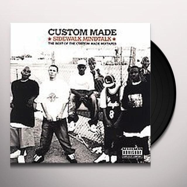 SIDEWALK MINDTALK: BEST OF CUSTOM MADE MIXTAPES Vinyl Record