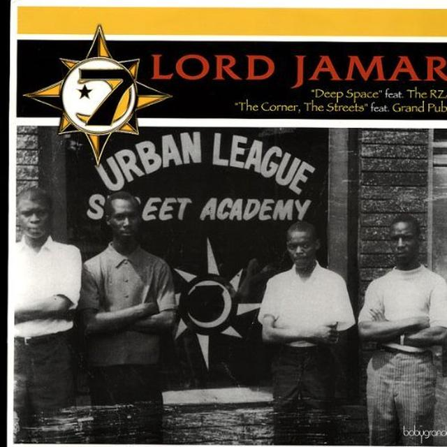 Lord Jamar DEEP SPACE / STREETS THE CORNER Vinyl Record