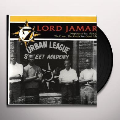 Lord Jamar DEEP SPACE / STREETS THE CORNER Vinyl Record