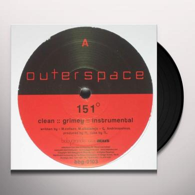 Outerspace 151 DEGREES / DIVINE EVIL Vinyl Record